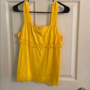 J crew yellow top